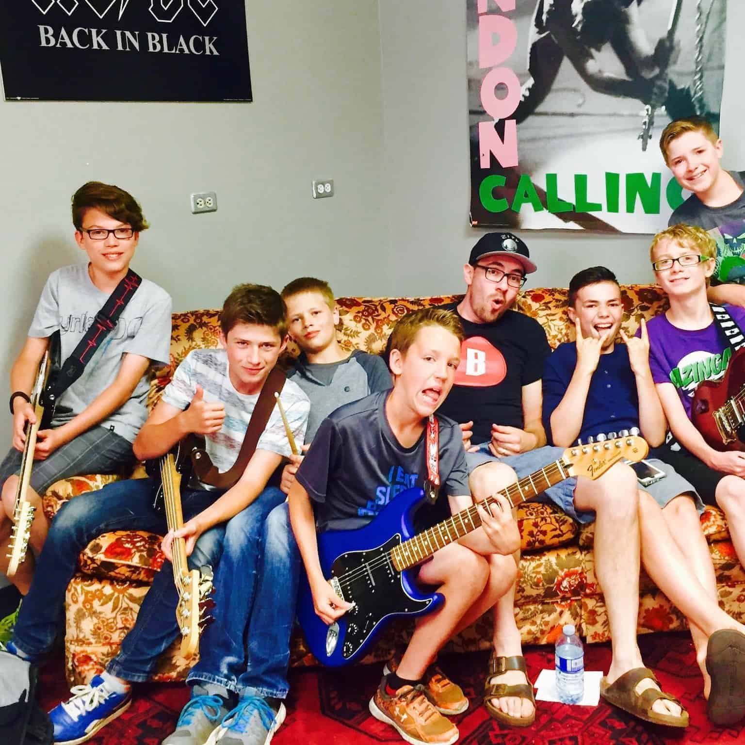 Intro to Guitar Ages 8-12