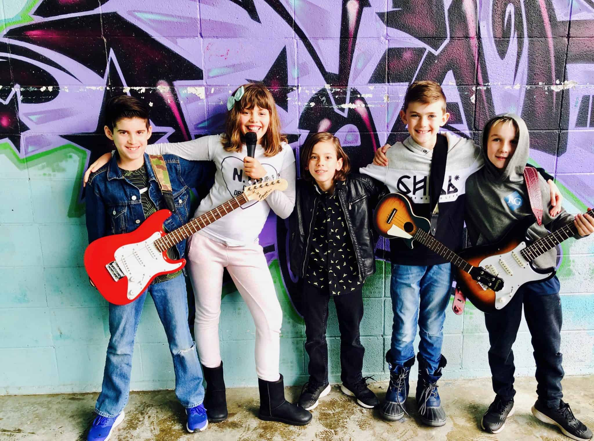 Marshmell-o Salad, a rock band at Backbeat - the place for rock bands and music lessons