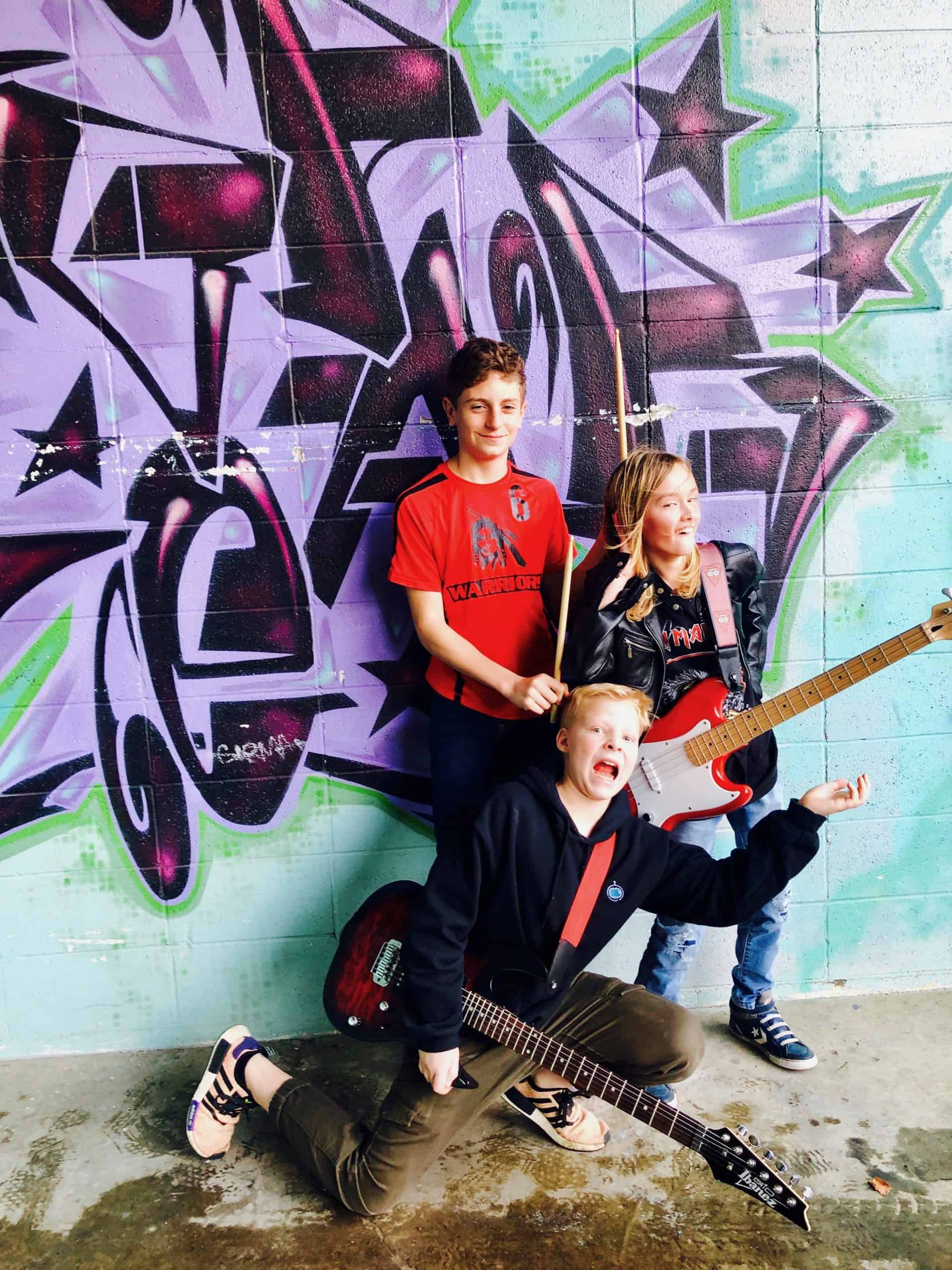 Barista Boys, a rock band at Backbeat - the place for rock bands and music lessons
