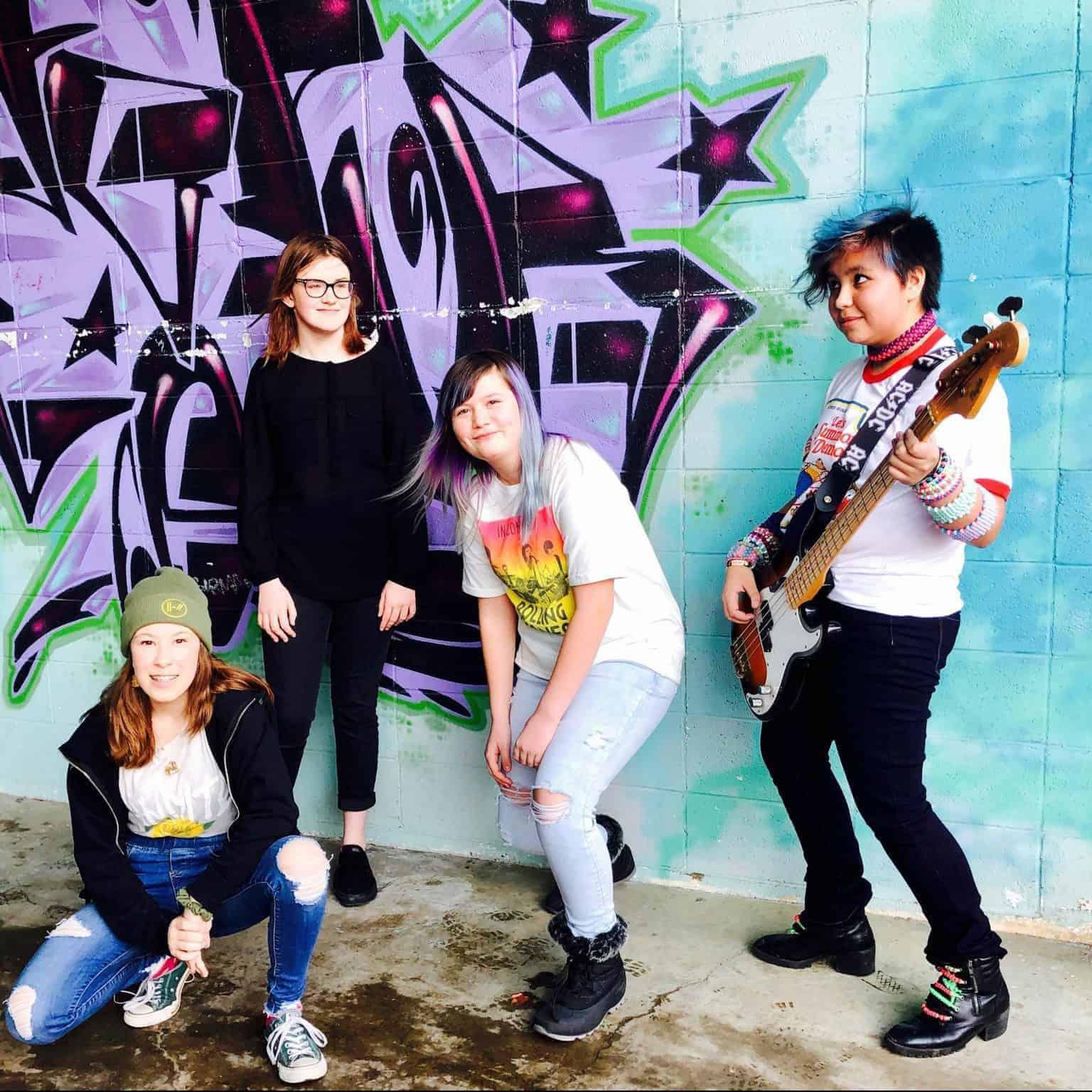 All Girl Rock Band in Edmonton