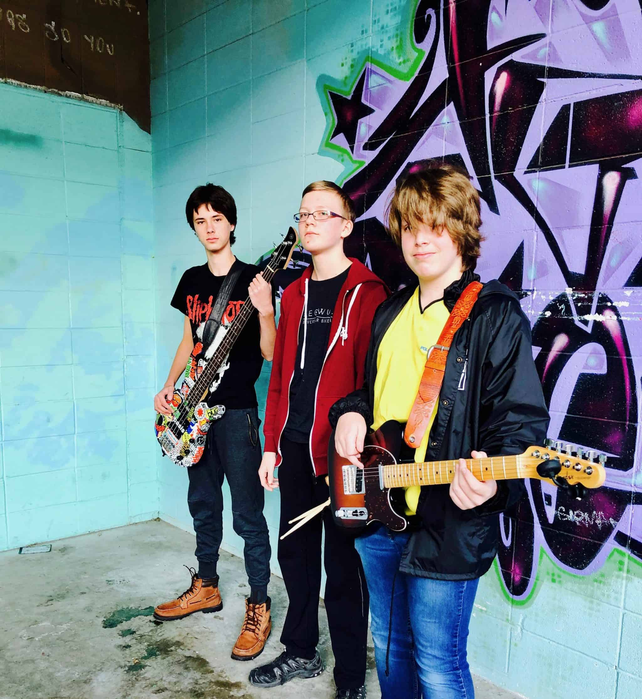 Skiing Uphill, a rock band at Backbeat - the place for rock bands and music lessons