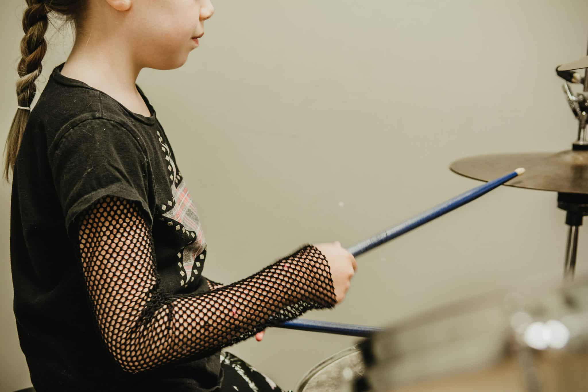 Drum Lessons Edmonton, With Lily