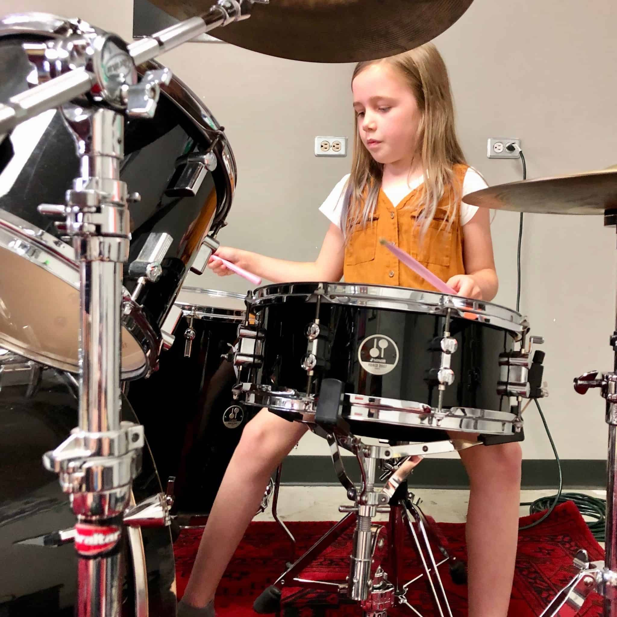 Edmonton Drum Lessons, With Lily