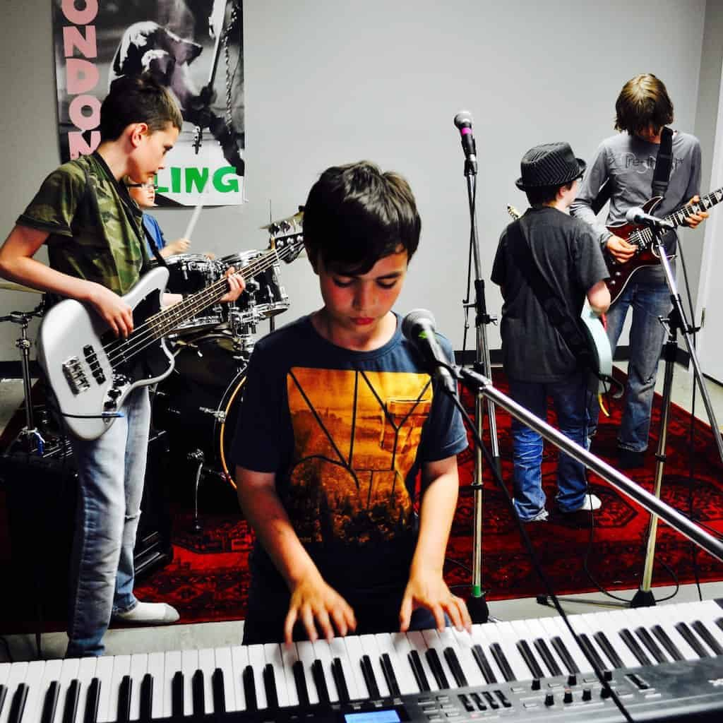 Join A Junior Rock Band in Edmonton