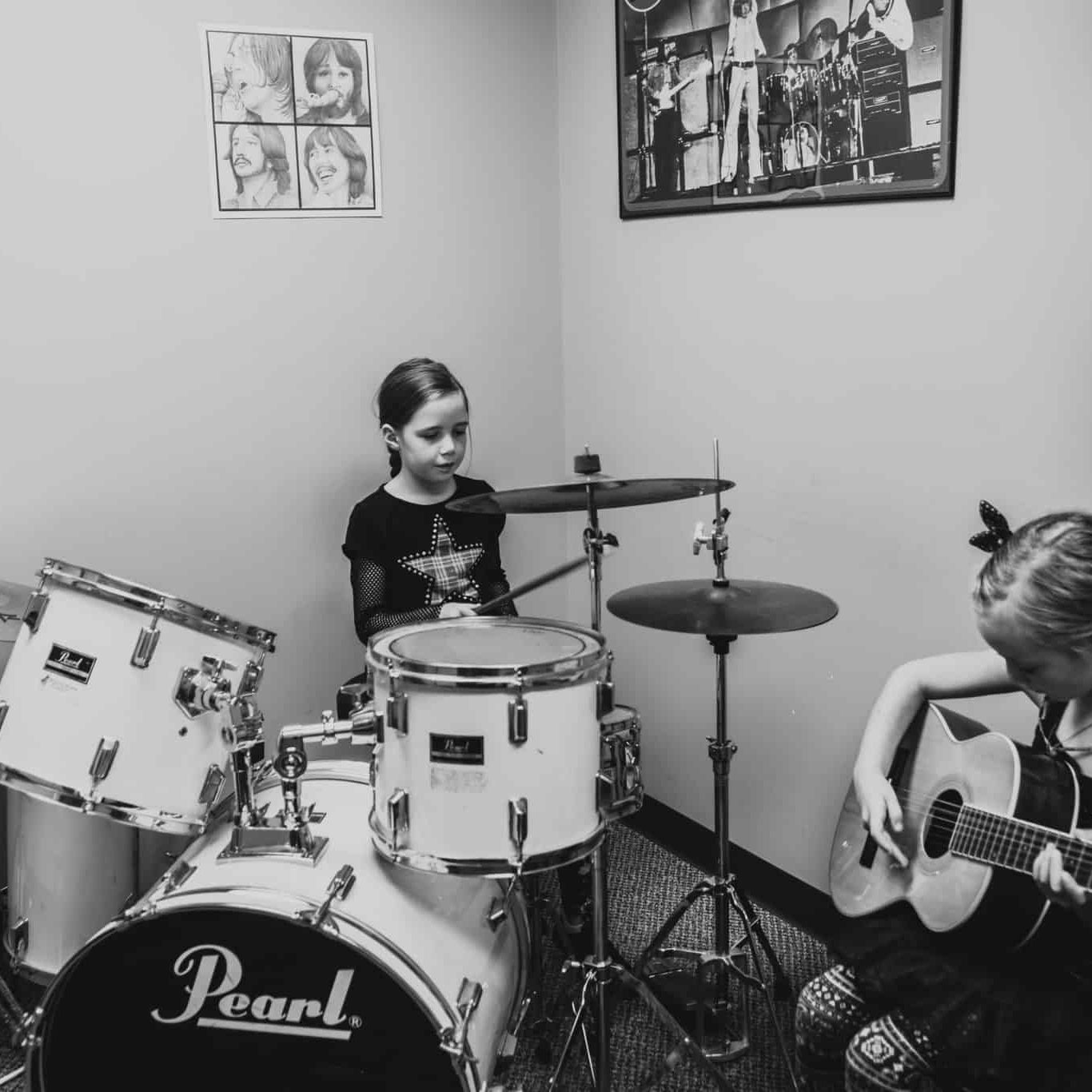 Junior Rock Band with Lily and Pyper Arbuckle
